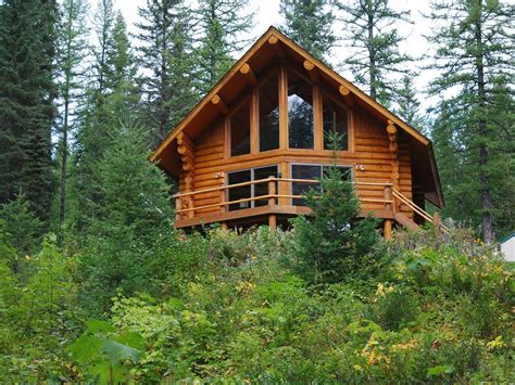 The Glacier Cabin Montana Shed The Log Cabin Experience Near Glacier National Park And