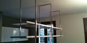 ID 56 mensole sospese a soffitto Interior Design Steellart Piacenza