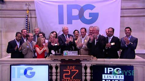 Interpublic Group Visits the NYSE - YouTube