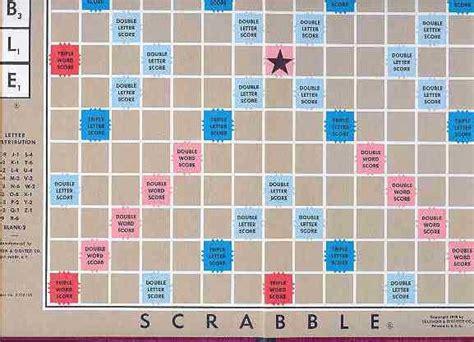 Scrabble Board Picture
