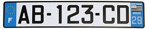 Plaque Immatriculation France : commandez plaques d 39 immatriculation sur internet plaquimmat ~ Medecine-chirurgie-esthetiques.com Avis de Voitures
