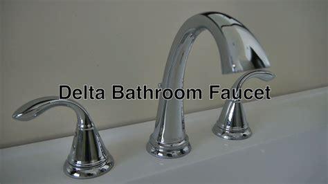 delta bathroom faucets  hole widespread  leaky water