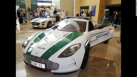 Dubai Police Own World's Fastest Police Car