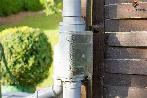 regenwasserfilter selber bauen regenwasser filtern selber bauen selbstreinigender