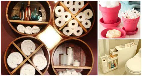 Diy Small Bathroom Storage Ideas by Creative Diy Small Bathroom Storage Ideas Diy Cozy Home