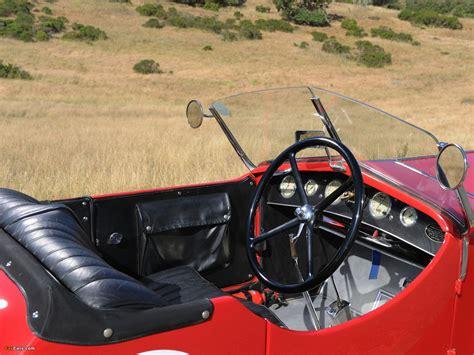 Alfa Romeo 6c 1500 Sport Spider Tre Posti 1928