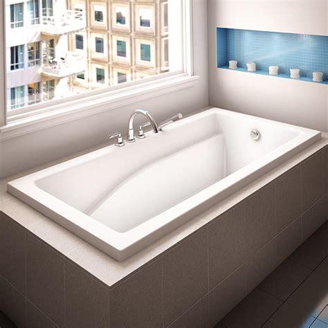 drop in bathtub alcove caprice podium bathtub