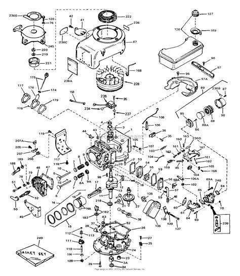 tecumseh   parts diagram  engine parts list
