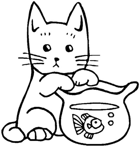 sketsa gambar kucing yang sangat mudah untuk kamu gambar
