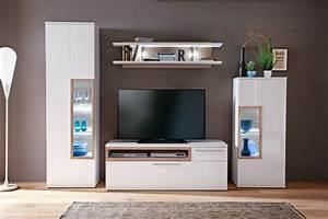 Tv Wand Weiß Hochglanz : wohnwand parla 20 wei hochglanz 4 teilig medienwand tv wand mit led wohnbereiche wohnzimmer ~ Indierocktalk.com Haus und Dekorationen