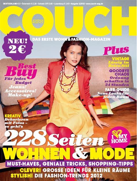 Couch Das Magazin Für Wohnen Und Fashion  Zag Blog