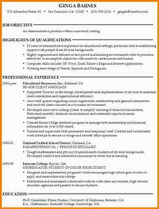 college application resume objective best resume collection With college application resume examples