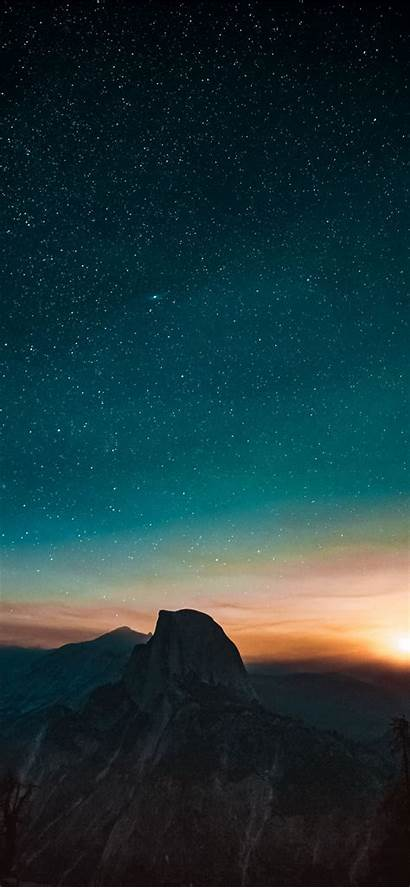Iphone Sunset Mountain Angle Wallpapers