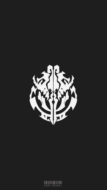 Anime Logo Wallpaper - nazarick logo overlord wallpaper logos wallpaper and