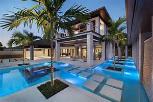 Custom Dream Home In Florida With Elegant Swimming Pool iDesignArch Interior Design