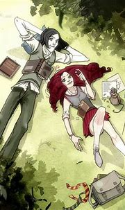 Lilly & Snape   Snape and lily, Harry potter fan art ...