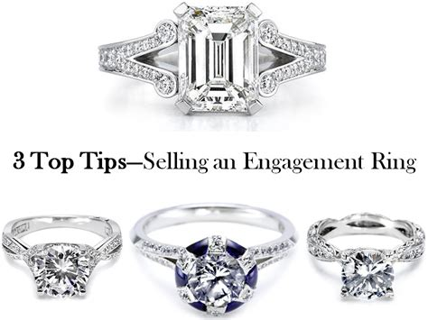 3 top tips to selling a pre owned engagement ring or
