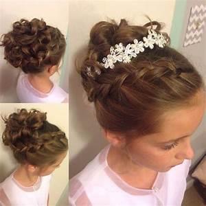 Wedding Hairstyles For Little Girls Best Photos Cute