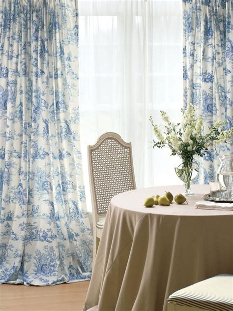 Country Drapes - lenoxdale toile tailored curtains country curtains