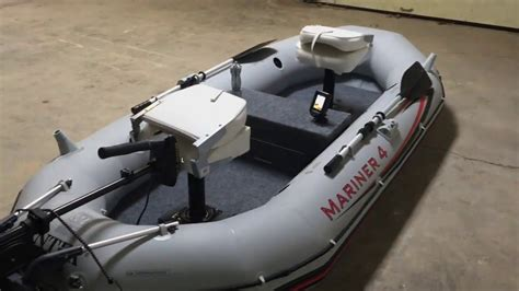 Boat Anchor For Inflatable by Intex Mariner 4 Modifications Part 2 Fix An Anchor And A