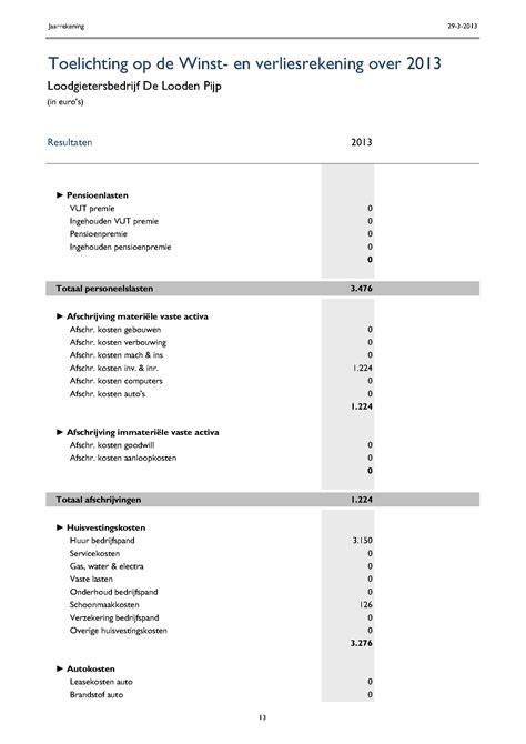 foto de Jaarrekening in Excel Boekhouden in Excel