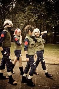 Naruto Team 7 Cosplay