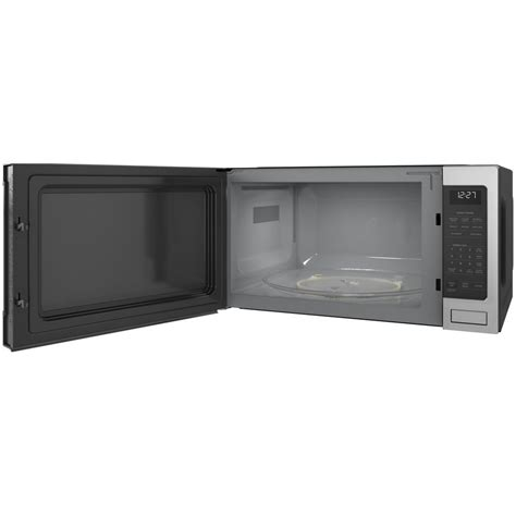 zesslss ge monogram  cu ft  counter microwave stainless airport home appliance