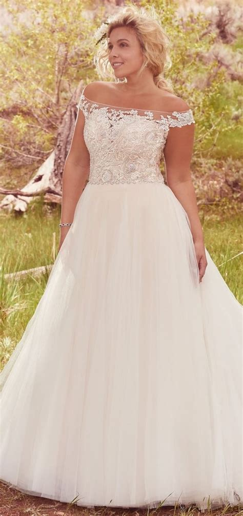 flattering plus size wedding gowns for the stylish and
