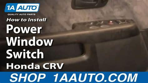 install replace power window switch honda cr