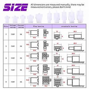 Electrical Connectors 580pcs Automotive Kit  2 8mm 3 4 6 9 Pin Wire Header Crimp 682838484087