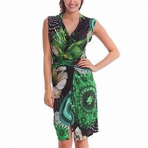 desigual uralet dress verde mckennan s born2style With robe desigual verte