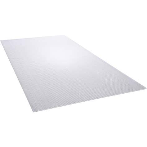 plaque polycarbonate alv 233 olaire clair lisse l 200 x l 105 cm x ep 4 mm leroy merlin