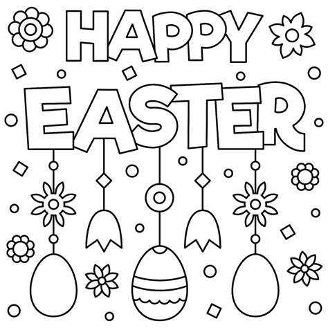 easter coloring pages fun spring themed printables