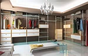 Dressing Autour Du Lit : dressing room walk in closet with modular wardrobe designs ~ Premium-room.com Idées de Décoration