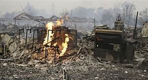 One dead as wildfire tears through Northern California ...