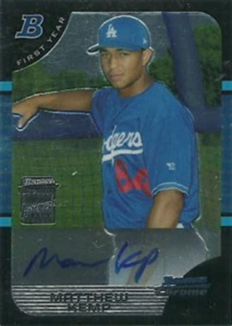 valuable bowman chrome baseball cards   time