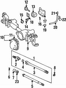 Front Axle  U0026 Carrier For 1999 Dodge Ram 2500