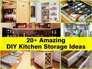 20 amazing diy kitchen storage ideas 808