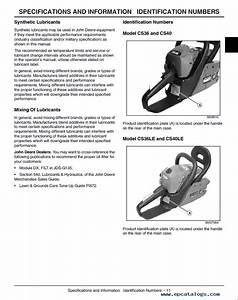 25 John Deere Chainsaw Parts Diagram