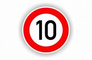 6 Km H Schild : verkehrsschild zul ssige h chstgeschwindigk 10 km h 274 10 ~ Jslefanu.com Haus und Dekorationen
