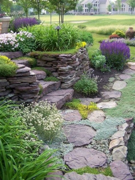 25 best ideas about rock walkway on rock path