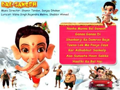 bal ganesh hd animated songs indian mythological songs