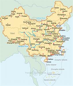 Shanghai Carte et Image Satellite