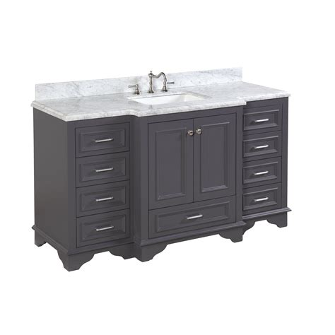Kitchen Bath Collection Nantucket by Kbc Nantucket 60 Quot Single Bathroom Vanity Set Reviews