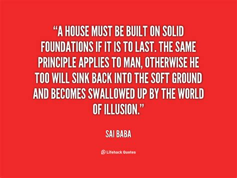 foundation building  relationship quotes quotesgram