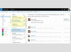 The Microsoft Outlook web client now has a cleaner UI and