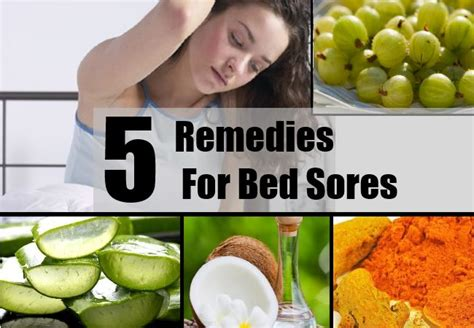 Bed Cure by Home Remedies For Bed Sores Treatments Cure