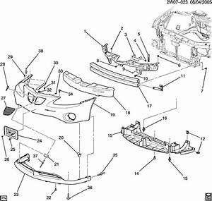 2004 Pontiac Grand Am Bumper Parts Diagram  Pontiac  Auto