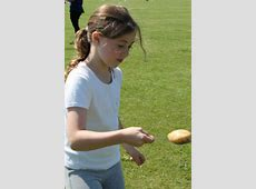 Sports Day 2014 Egg and Spoon Race Brecknock Primary