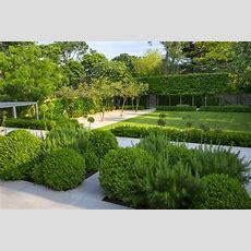 Formal Structural Garden  Charlotte Rowe Garden Design